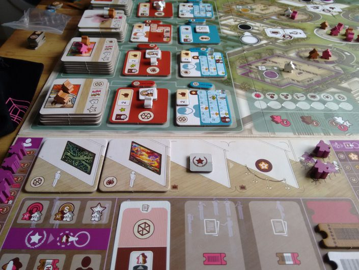 Das Worker-Placement Spiel The Gallerist von Vital Lacerda.